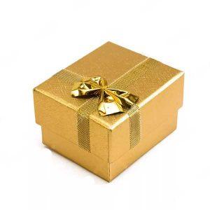 Корбочка VIP золотая подарочная