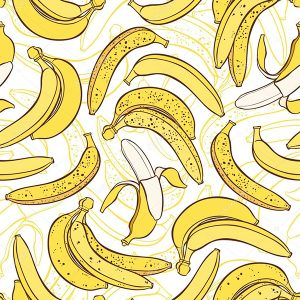 Бумага «TISSUE» Бананы