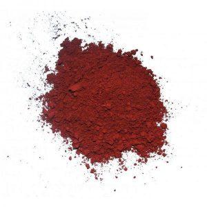 Красная глина косметическая