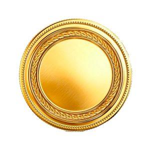 Стикер золотой 18