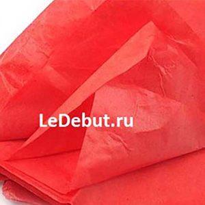 Бумага Тишью красная