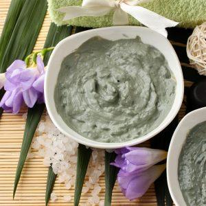 Зеленая глина косметическая